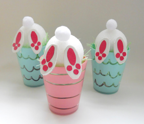 Bunny Tail Treat Cups