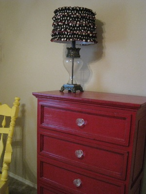 Ruffled Lamp Shade