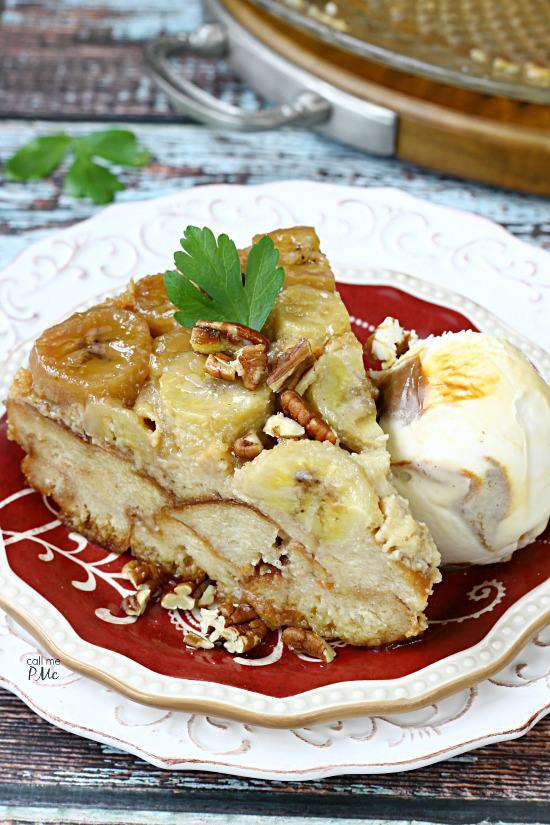 Southern Banana Bread Pudding Favesouthernrecipes Com