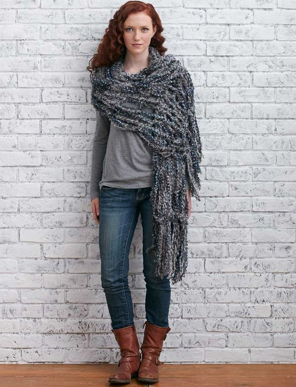 Misty Goddess Arm Knit Wrap