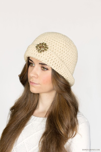 Great Gatsby Crochet Cloche Hat Pattern Favecrafts