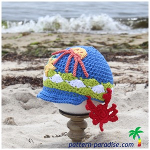 Splish Splash Crochet Hat Pattern