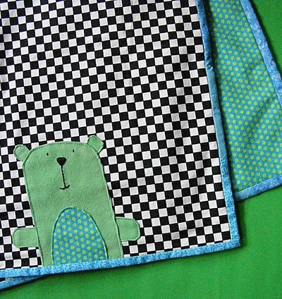 Anywhere Bear Receiving Blanket Pattern Allfreesewing Com