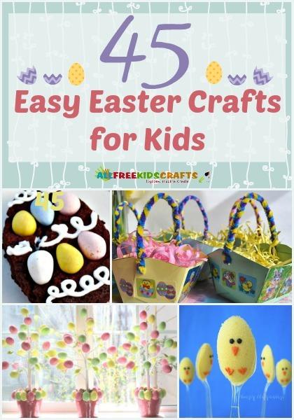 45 Easy Easter Crafts For Kids Allfreekidscrafts Com
