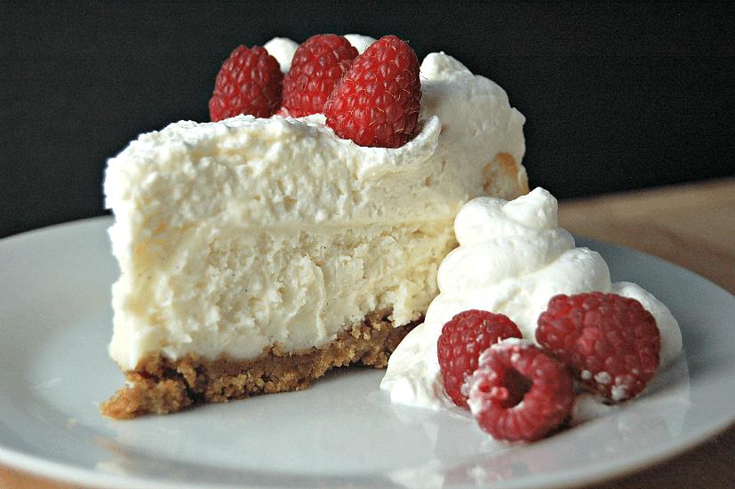 Just Like Cheesecake Factory Vanilla Bean Cheesecake