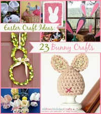 Easter Craft Ideas: 23 Bunny Crafts