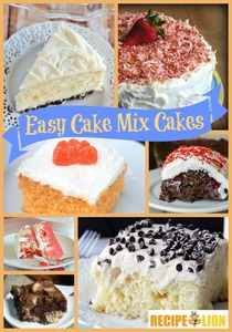 17 Easy Cake Recipes With Cake Mix