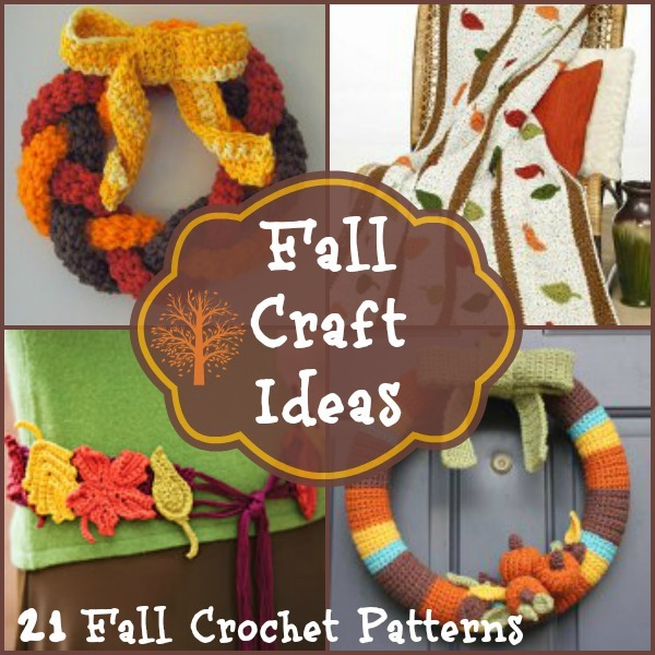Fall Craft Ideas 21 Fall Crochet Patterns