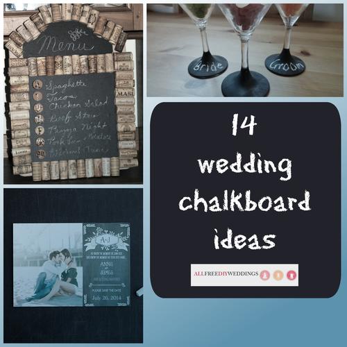 14 Wedding Chalkboard Ideas