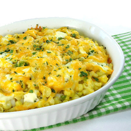 Corn and Hominy Casserole
