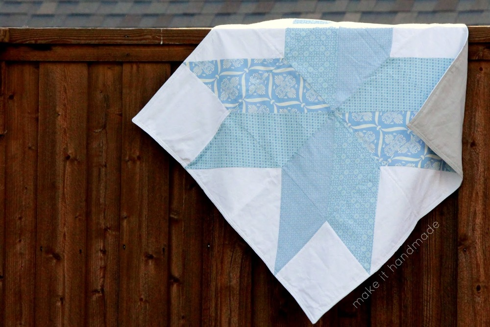 Big Star Baby Blanket | FaveQuilts.com