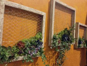 Succulent Garden DIY Wall Decor