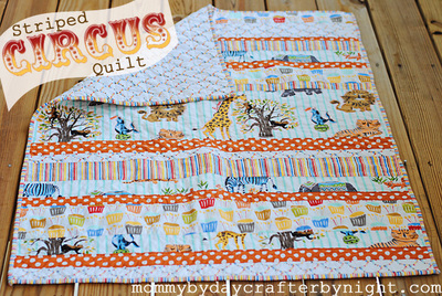 Circus is in Town Quilt