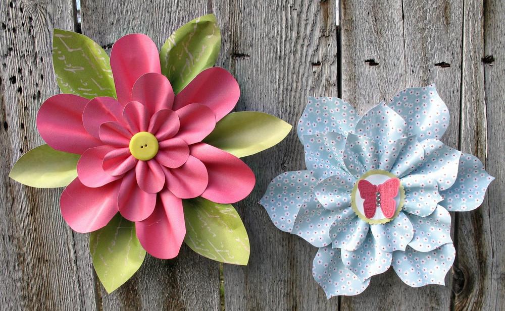 Lovely little paper flowers allfreepapercrafts mightylinksfo