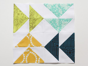 Fast Forward Quilt Block