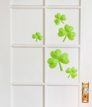 Easy 3D Shamrocks