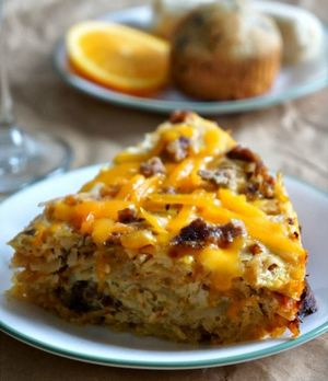 Savory Slow Cooker Breakfast Casserole