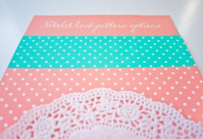Dots and Doilies Wedding Invitations