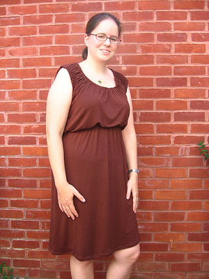 Knit Peasant Dress Tutorial