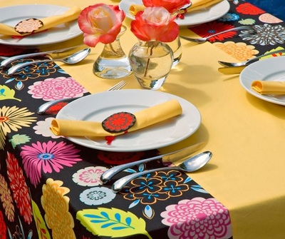 One Night Flower Tablecloth