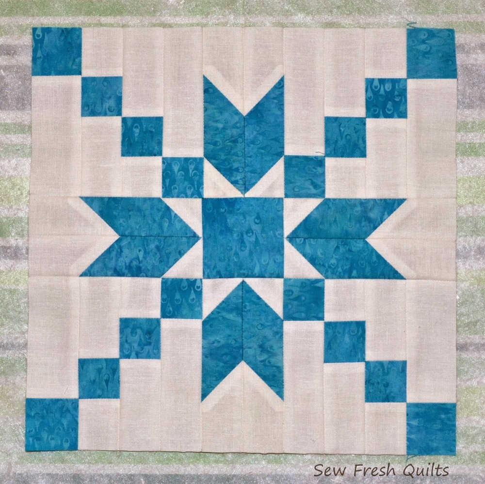 Quilting Designs For Blocks : Stepping Stones Quilt Block Pattern FaveQuilts.com