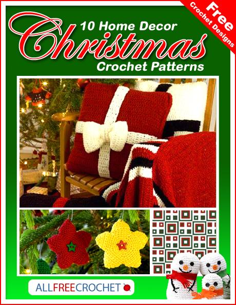 10 Home Decor Christmas Crochet Patterns Allfreecrochet