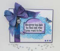 distress ink watercolor diy greeting card - Diy Greeting Cards