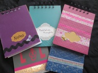 Decorated Notebook Cover Diy Craft Project Favecrafts Com
