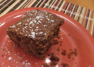 One-Bowl Moist Spice Cake