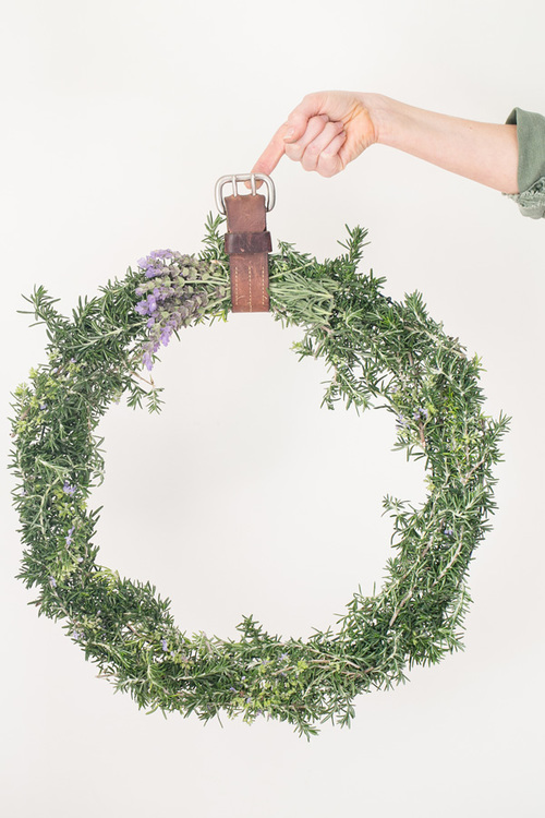 Rustic Rosemary DIY Wreath
