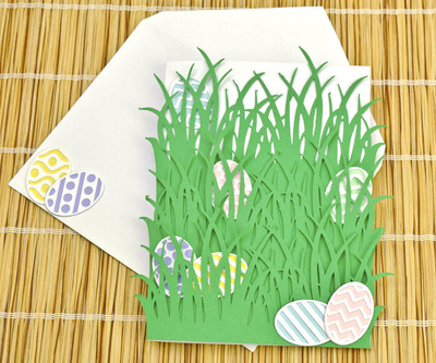 Hidden Easter Eggs Card