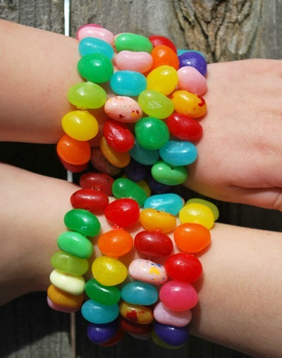 Easter Jelly Bean Bracelets