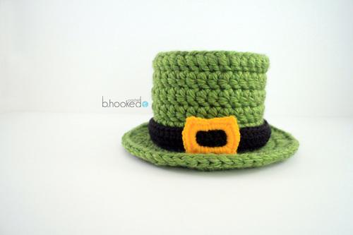 Free Amigurumi Leprechaun Pattern : Lucky crochet top hat allfreecrochet.com