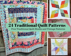 900+ Free Quilting Patterns | FaveQuilts.com : vintage quilt designs - Adamdwight.com