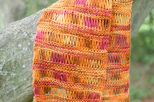 Sunburst Easy Knit Scarf