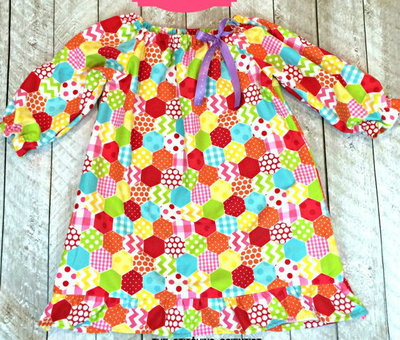 Toddler Flannel Diy Nightgown Allfreesewing