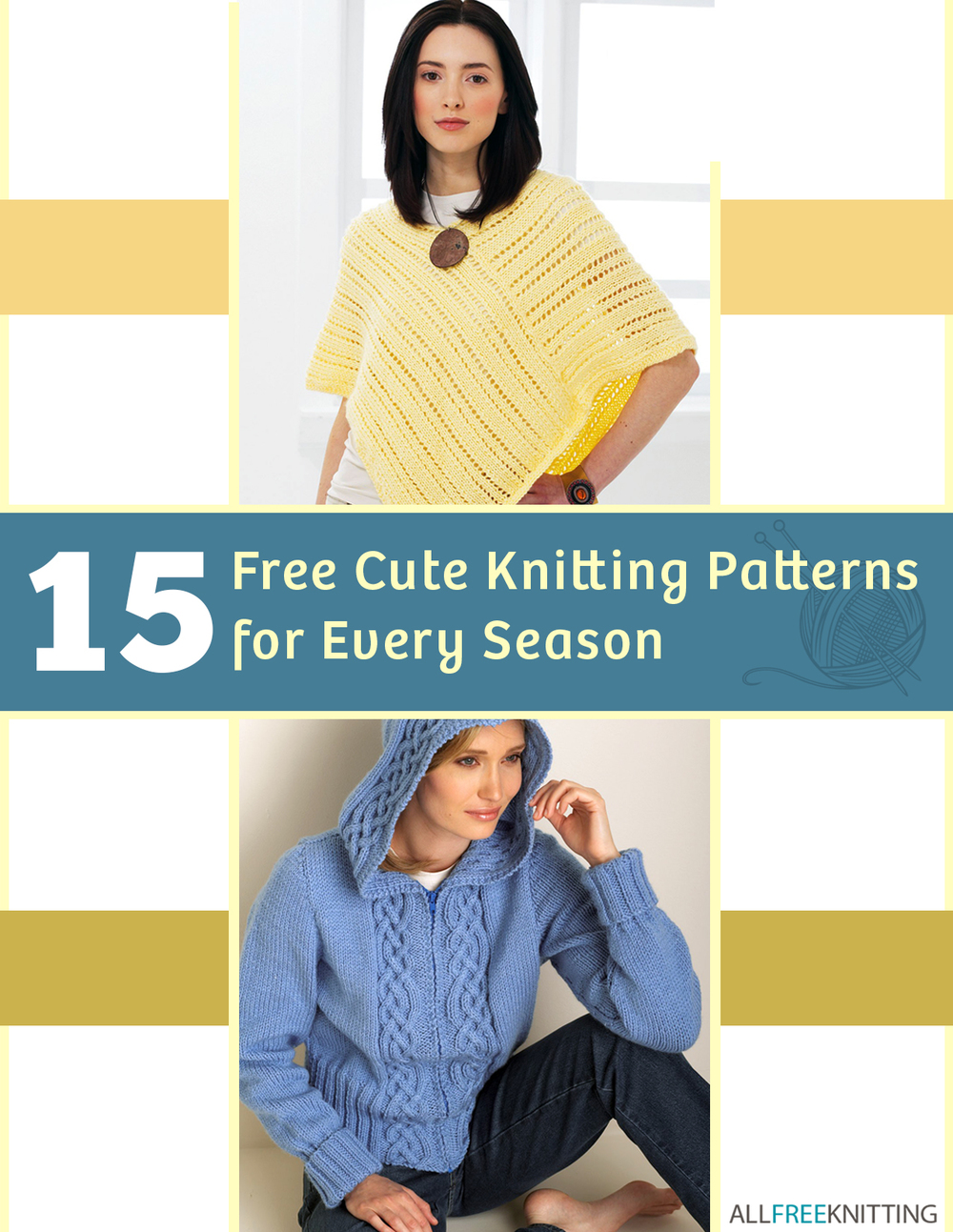 15 Free Cute Knitting Patterns for Every Season\