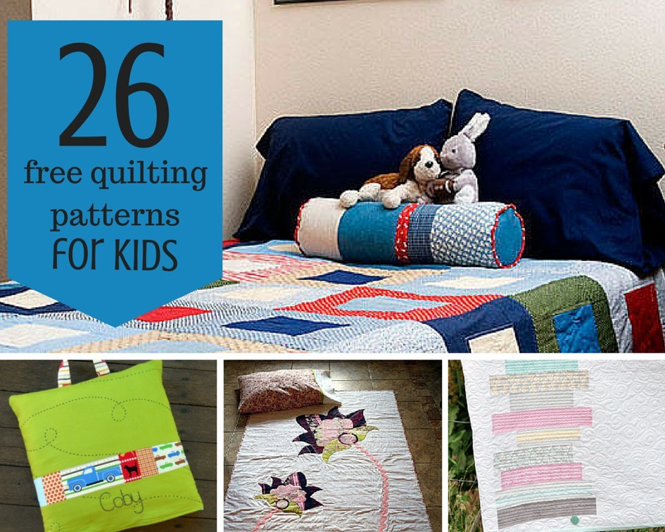 26 Free Quilting Patterns For Children Favequilts Com