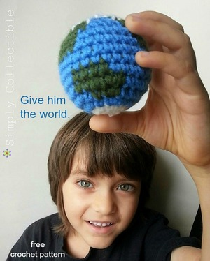 Earth Day Crochet Amigurumi Pattern