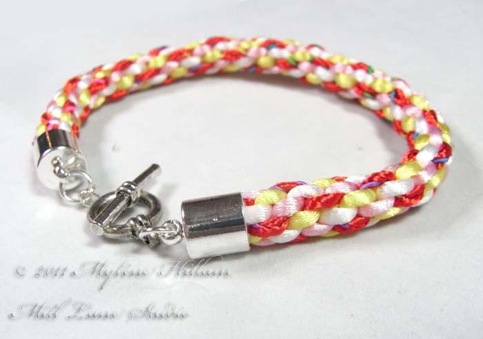 kumihimo wire jewelry instructions