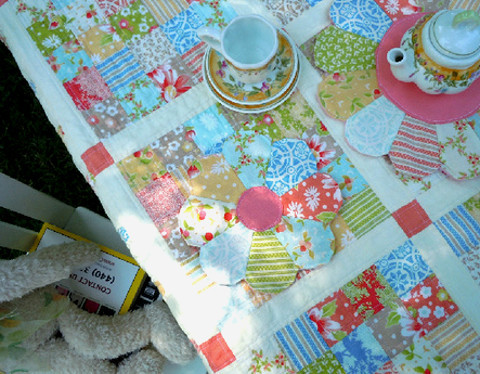 Delightful Dresden Flower Placemats Favequilts Com