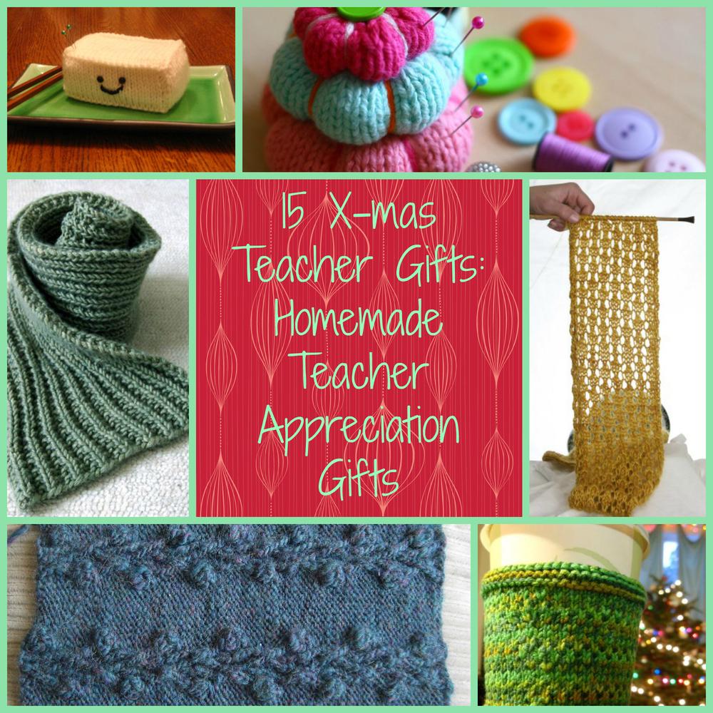 Diy Gift Idea Day Teacher Home Art Decor: 15 Xmas Teacher Gifts: Homemade Teacher Appreciation Gifts