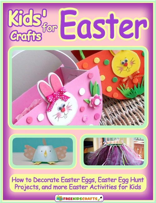 Kids Crafts for Easter eBook