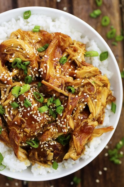 Honey Teriyaki Slow Cooker Chicken