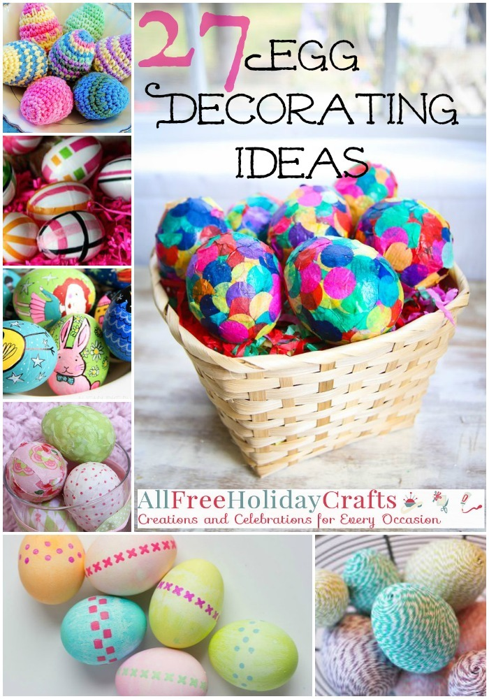 27 Egg Decorating Ideas For A Hoppy Easter