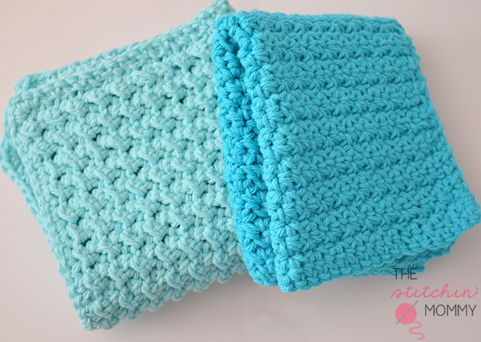 Beginner Crochet Patterns : Textured Washcloth Easy Crochet Pattern FaveCrafts.com