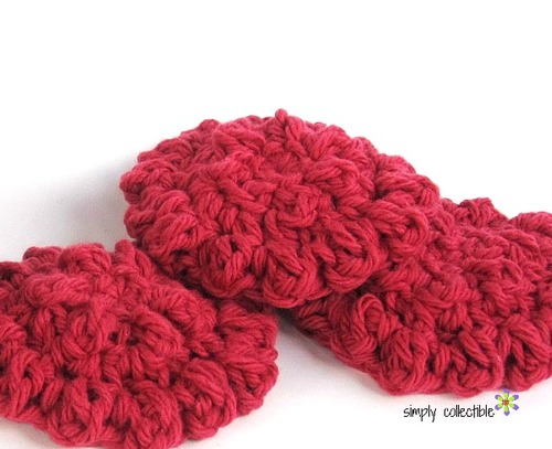 Round Spa Scrubby Easy Crochet Pattern Favecrafts