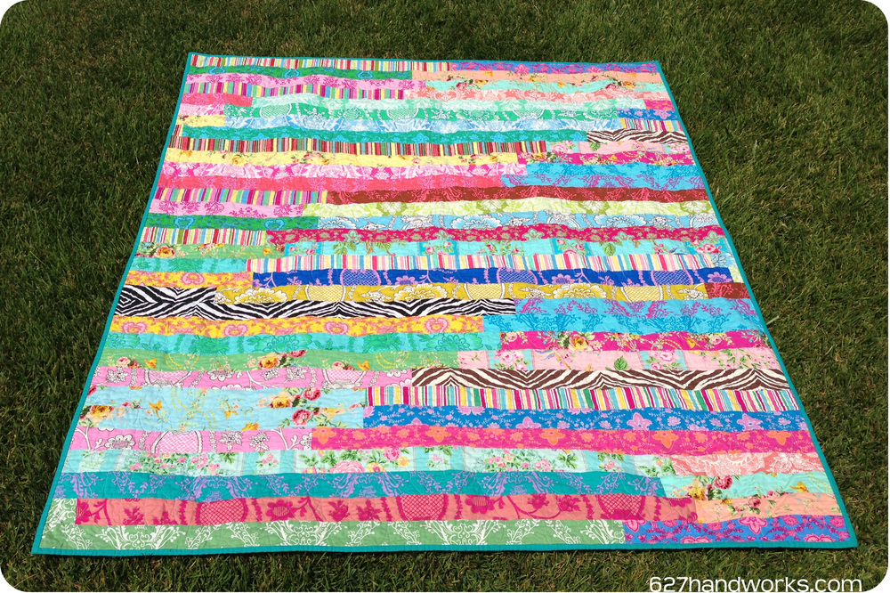 How To Make A Jelly Roll Quilt 9 Jelly Roll Quilt