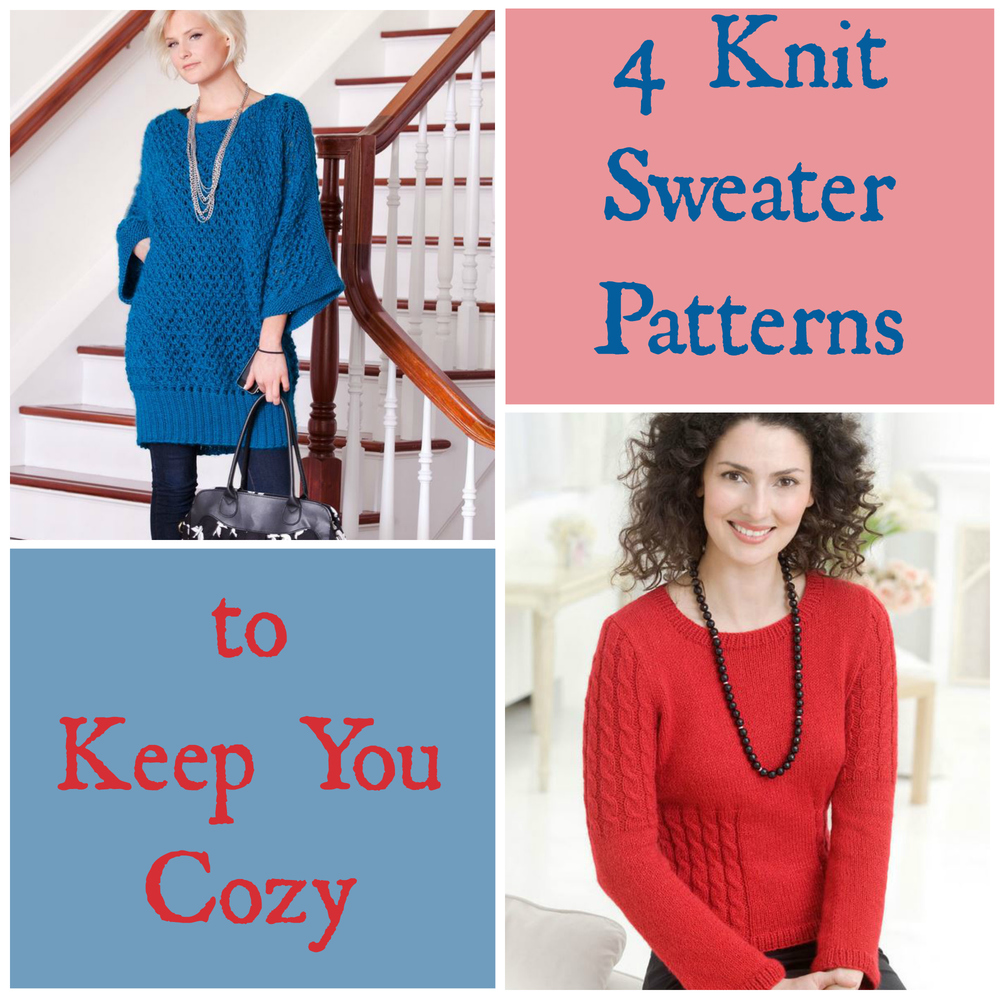 4 Knit Sweater Patterns To Keep You Cozy   AllFreeKnitting.com