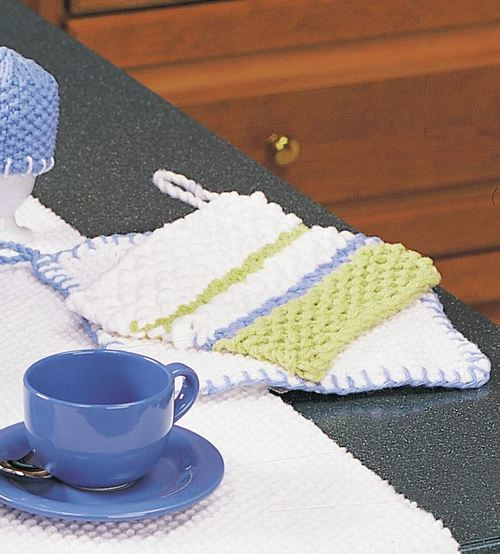 Simply Striped Pot Holder